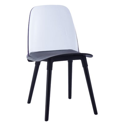 Fields Dining Chair Color: Black