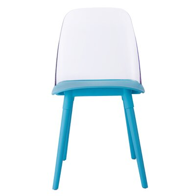 Fields Dining Chair Color: Blue