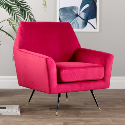 Arsdale Armchair Upholstery: Maroon
