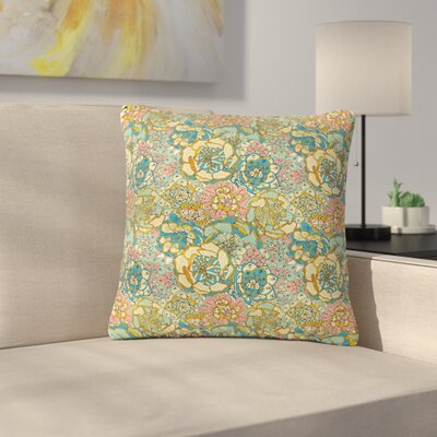 Pom Graphic Design Blooming Succulents Outdoor Throw Pillow Size: 16 H x 16 W x 5 D