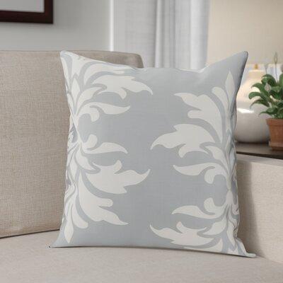 Eudora Double Outdoor Throw Pillow Color: Grey