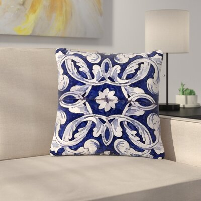 Oriana Cordero Lisboa Outdoor Throw Pillow Size: 18 H x 18 W x 5 D