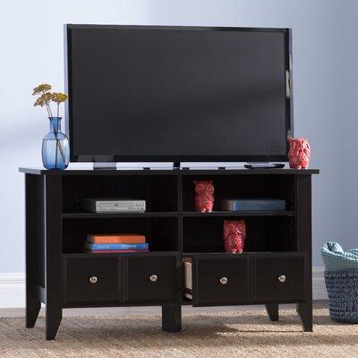 Wilburn 52 TV Stand Color: Matte Black