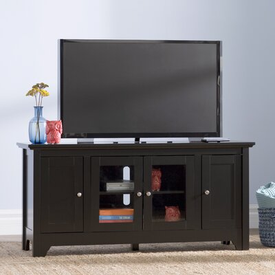 Wilburn 52 TV Stand Color: Matte Black