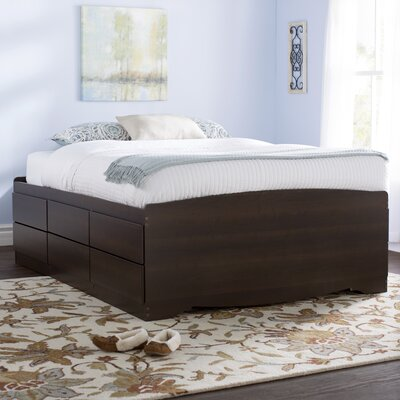 Norristown Storage Platform Bed Size: Queen, Color: Espresso