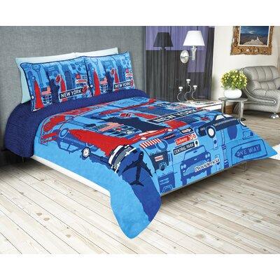 Sherpa Reversible Super Soft Jumbo New York Comforter