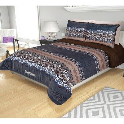 Sherpa Reversible and Texture Super Soft Jumbo Comforter