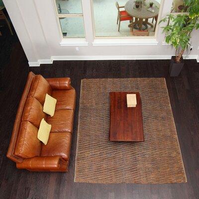 Ketner Hand-Woven Brown Indoor/Outdoor Area Rug