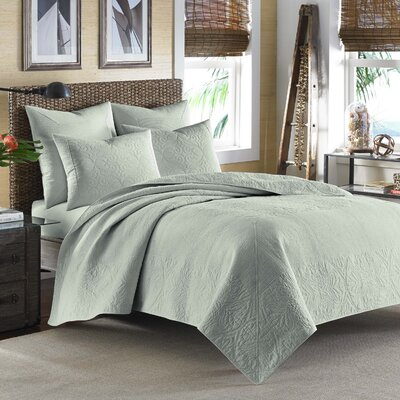 Nassau Sham by Tommy Bahama Bedding Size: Standard, Color: Aqua