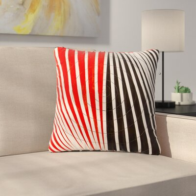 NL Designs Optical Illusions Outdoor Throw Pillow Size: 18 H x 18 W x 5 D
