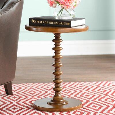 Adames End Table Color: Hazelnut