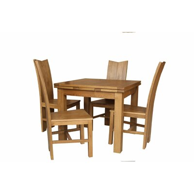 Baxley 5 Piece Dining Set Color: Natural Oak