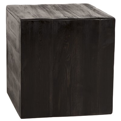 Paschke Rustic Cube End Table