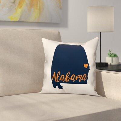 Alabama Pride Throw Pillow