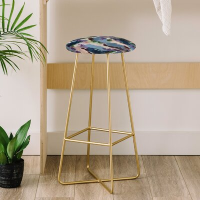 Laura Fedorowicz Wildflower Royale 31 Bar Stool