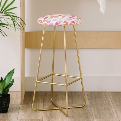 Hello Sayang Love Triangles 31 Bar Stool