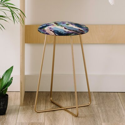 Laura Fedorowicz Wildflower Royale 25 Bar Stool