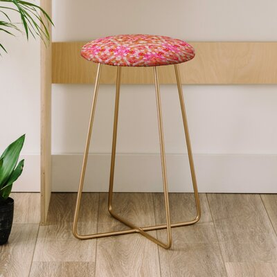 Lisa Argyropoulos Autumn Rapture Kaleido 25 Bar Stool