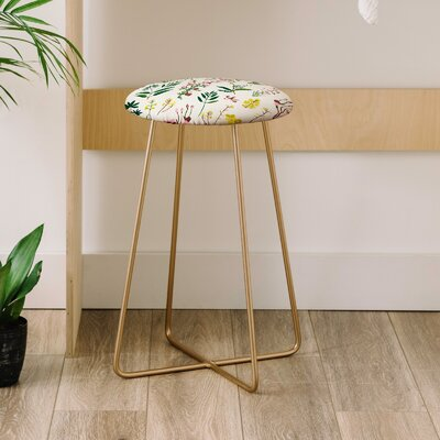 Holli Zollinger Wildflower Study Co Farm Life 25 Bar Stool