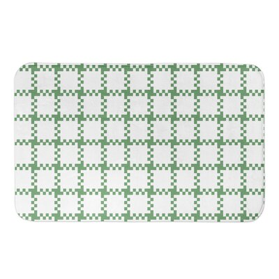 Hutson Plaid Bath Rug