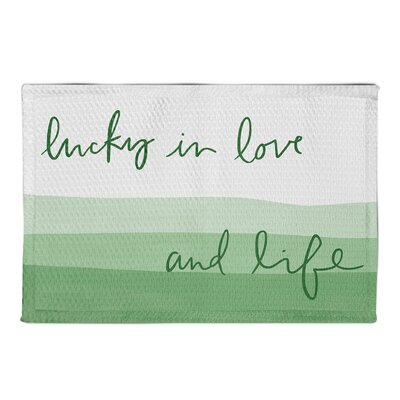 Hutson Lucky In Love White Area Rug