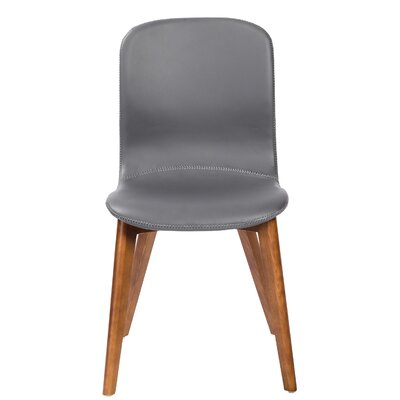 Gamino Upholstered Dining Chair Upholstery: Gray