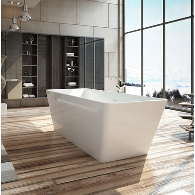 Onsen 63 x 28 Freestanding Soaking Bathtub