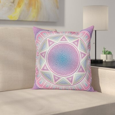 Modern Medalion Pillow Cover Size: 18 x 18