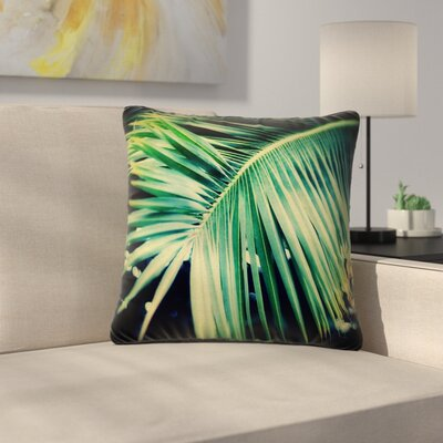 Angie Turner Palm Frond Nature Outdoor Throw Pillow Size: 16 H x 16 W x 5 D