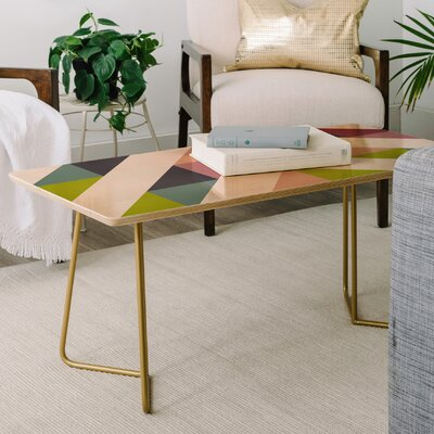 Fimbis Patchwork Spring Coffee Table
