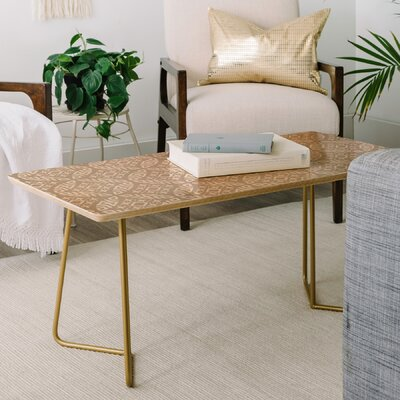 Little Arrow Design Co Modern Moroccan Coffee Table