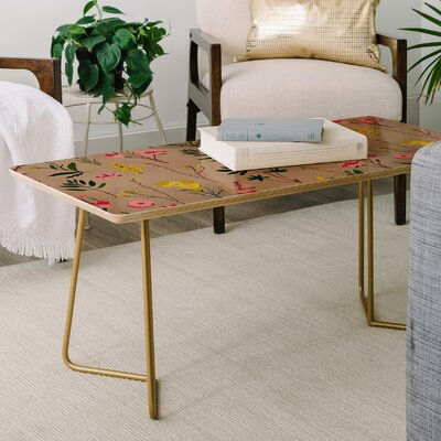Holli Zollinger Wildflower Study Coffee Table
