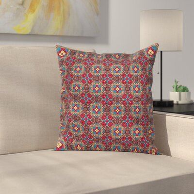 South Eastern Oriental Cushion Pillow Cover Size: 16 x 16