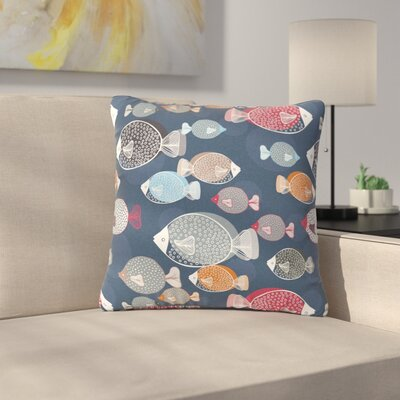 Melissa Armstrong Swim School Outdoor Throw Pillow Size: 16 H x 16 W x 5 D