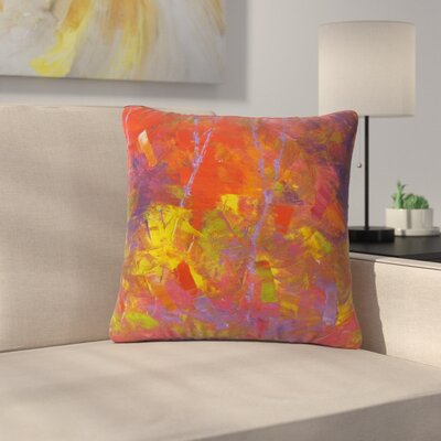 Jeff Ferst Forest Kaleidescope Outdoor Throw Pillow Size: 18 H x 18 W x 5 D