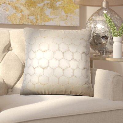Sybilla Geometric Throw Pillow Color: Camel