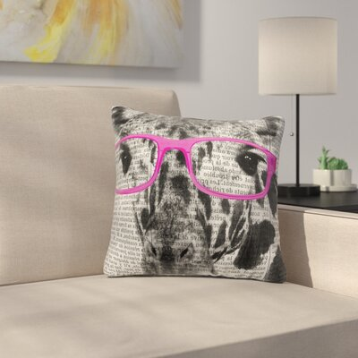 Balke Glasses Accent Pillow Size: 18 H x 18 W x 6 D