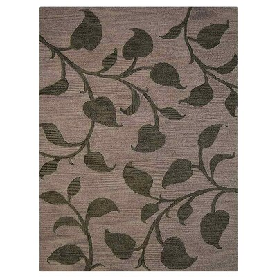 Camptown Floral Hand-Tufted Wool Beige/Green Area Rug