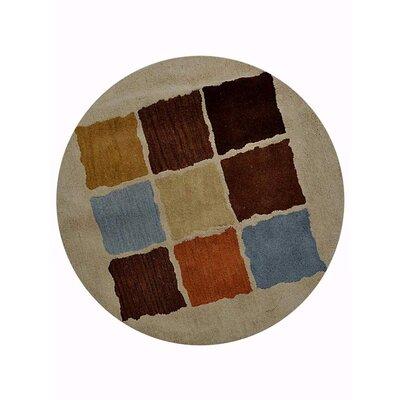 Johansson Geometric Hand-Tufted Wool Cream Area Rug