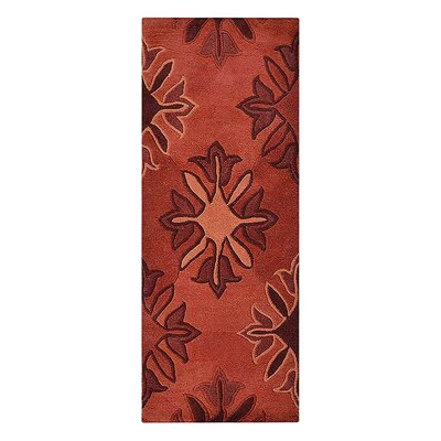 Johansson Floral Hand-Tufted Wool Rot Area Rug