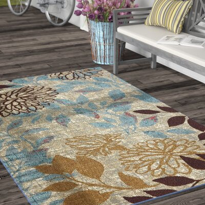 Atwater Bella Garden Area Rug Rug Size: Rectangle 5 x 8