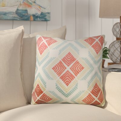 Crofton Embroidered Throw Pillow