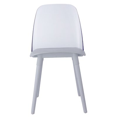 Fields Dining Chair Color: White