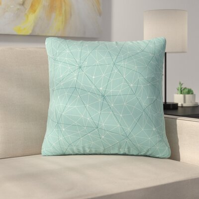 Throw Pillow Size: 26 H x 26 W x 7 D, Color: River