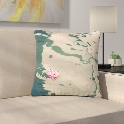 Sylvia Coomes Venetian Rose Outdoor Throw Pillow Size: 18 H x 18 W x 5 D