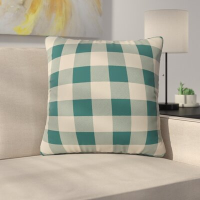 Cozy Woods Plaid Indoor/Outdoor Throw Pillow Size: Small