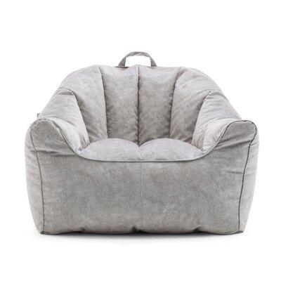Big Joe Hug Bean Bag Chair Upholstery: Caribou