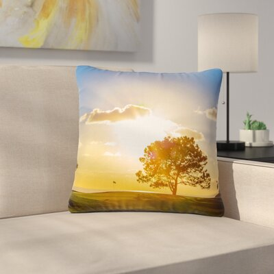 Juan Paolo Approach Shot Outdoor Throw Pillow Size: 16 H x 16 W x 5 D