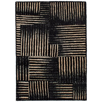 Crim Black/Tan Area Rug