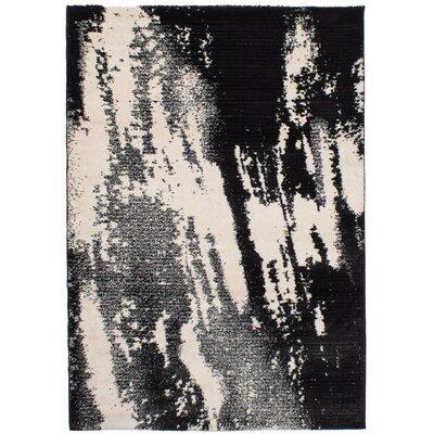 Freemont Black/Ivory Area Rug